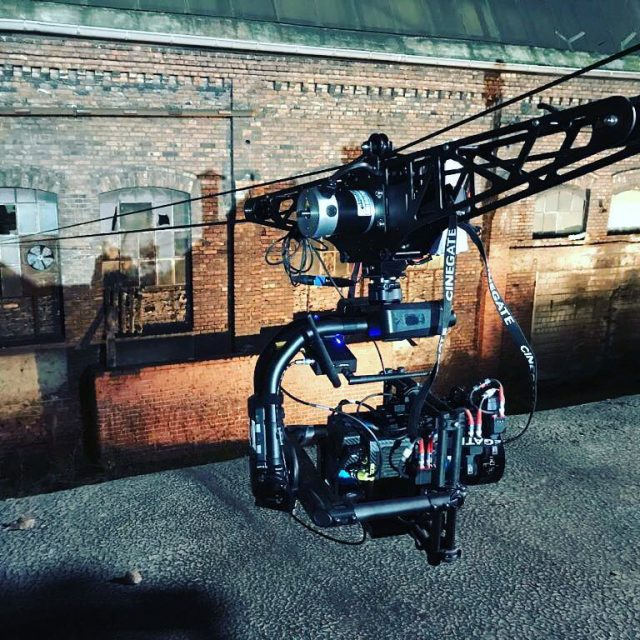 Great BTS from our last cinema project motioncompoundcablecam seilkamera cablecamhellip