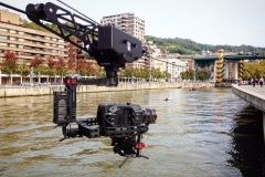 MCE-cable cam with the FS7 in Bilbao, Spain